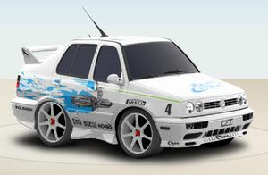 VW Jesse's Jetta 1995