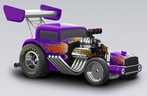 1932 Ford Deuce Dragster
