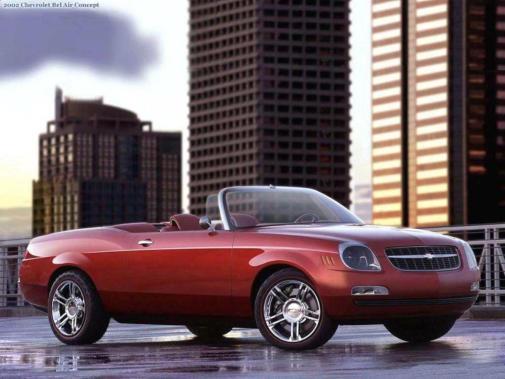 Chevrolet Bel Air Concept 2002-1-
