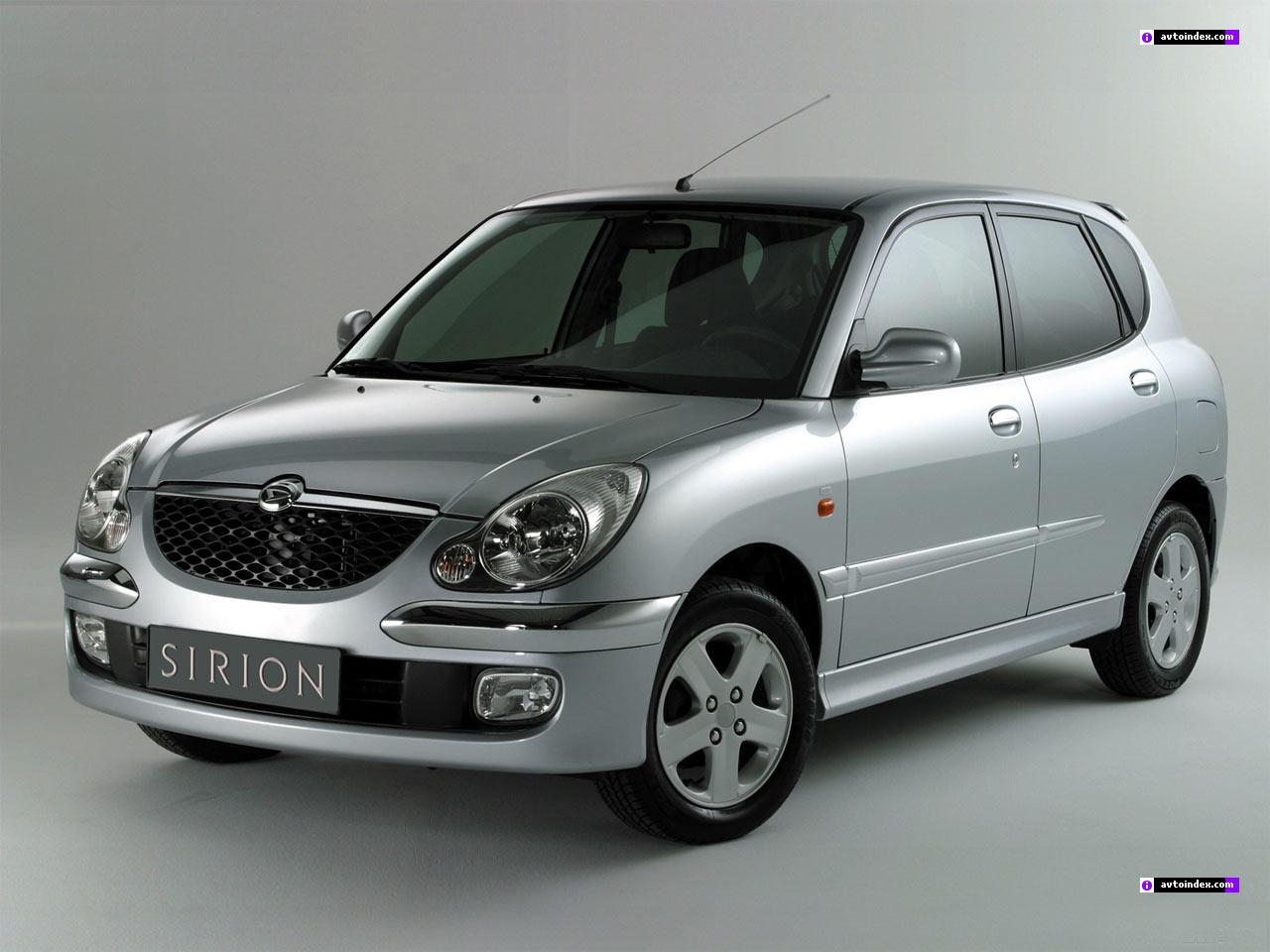 Daihatsu Sirion 2002 30-1-