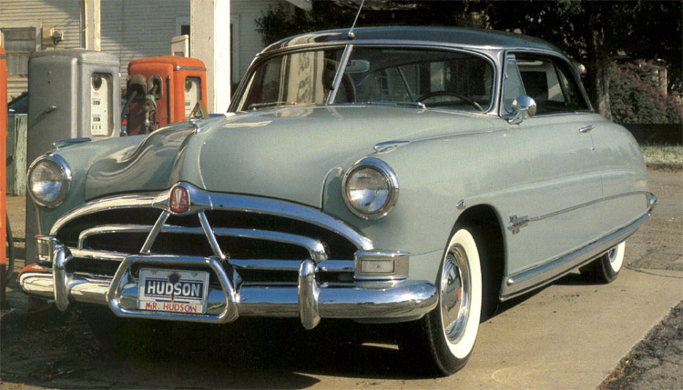 A 1951 Hudson Hornet Hollywood