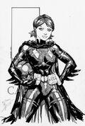 Ale Garza-Batgirl(Unmasked)