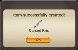 Cursed Kris