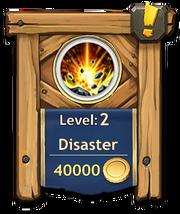 Disaster level 2