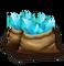 Blue Crystal Bag L