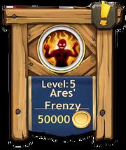 Ares frenzy level5