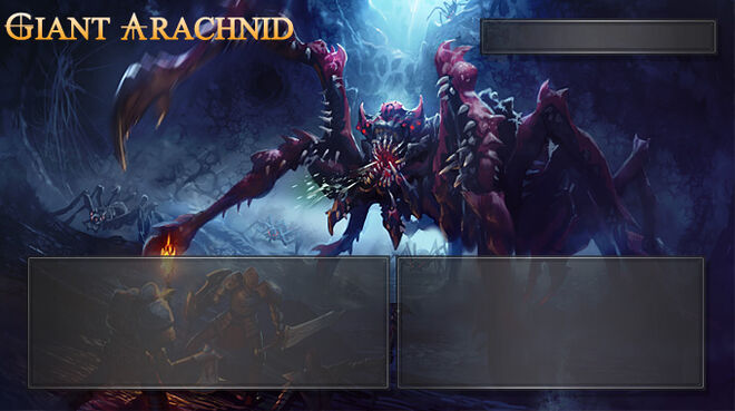 Giant Arachnid monster