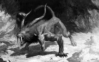 Monster chimera dead