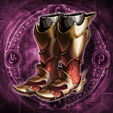 Deadly Bloodstained Boots