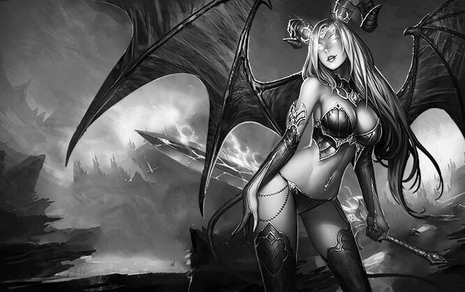 Monster succubus desire dead