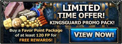 Kingsguard ad