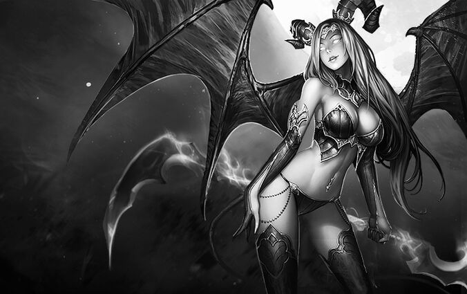 Monster succubus agony large dead