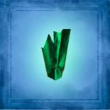Green Emerald Shard 1