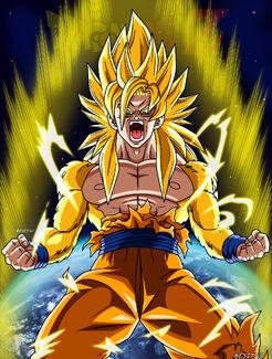 Goku ssj god my version by bejitsu-d5xv17h
