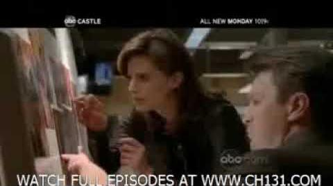 Castle 2x08 Kill the Messenger Promo