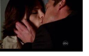 Sorenson kissing Beckett