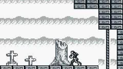 Game Boy - CastleVania Adventure - Stage 1