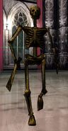 Evolution Skateboarding Giant Skeleton