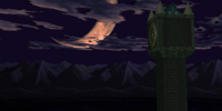 Clock and Machine Towers