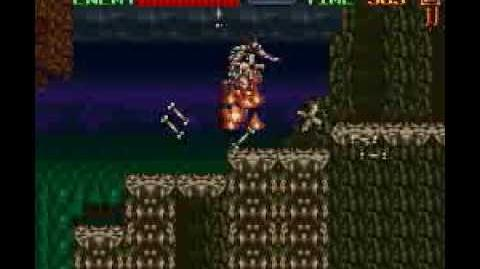 Super Castlevania IV Stage 2