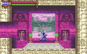 Aria of Sorrow - Teleport Room - 01
