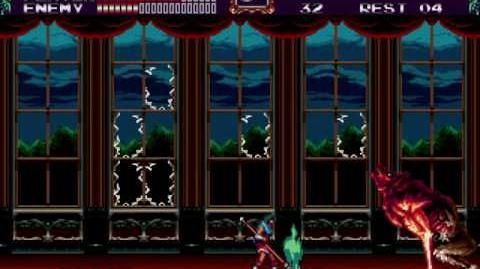 Castlevania Bloodlines video (Eric)
