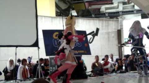 Maria Reinhard & Alucard-Castlevania Judgement. ConComics Music Concurso Cosplay