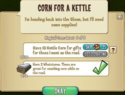 Corn for a Kettle