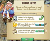 REEKING HAVOC