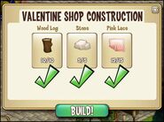 Valentine Shop Materials