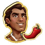 Rafael with Chilli Pepper