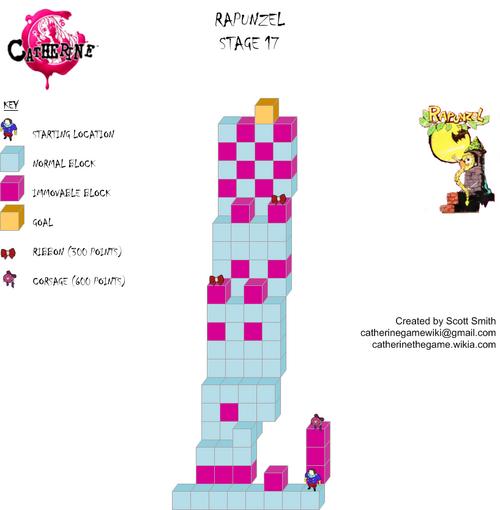 Map 17 Rapunzel