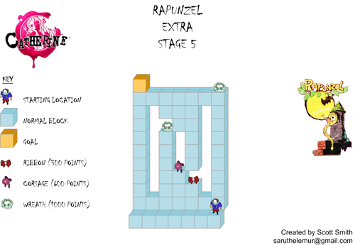 Map E5 Rapunzel