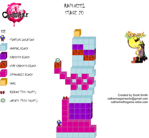 Map 20 Rapunzel