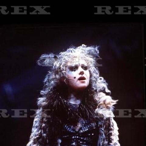 Elaine Paige as Grizabella, 1981