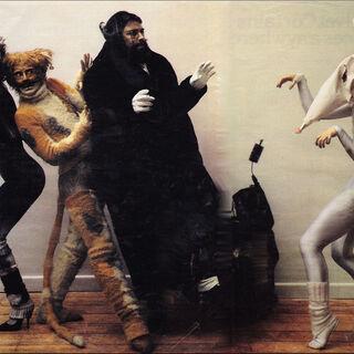 Finola Hughes as Victoria (far right) in London, 1981