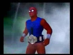 Scarlet Spider as Undisputed nCw champion