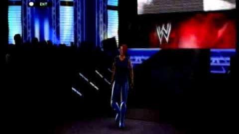 Jessica Knight WWE 2K14 Entrance 2