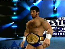 James Dark as DMW World champion 2