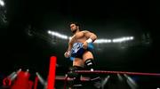James Dark after winning the PFW title