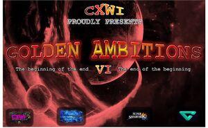 CXWI Golden Ambitions VI Logo