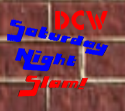 DCW Saturday Night Slam Logo