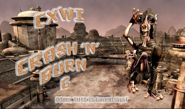 File:CXWI Crash 'N' Burn 6 logo.png
