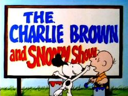 Charlie brown snoopy show