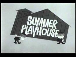Summer playhouse