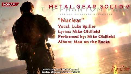Metal Gear Solid V - Phantom Pain ''Nuclear'' Lyrics HD