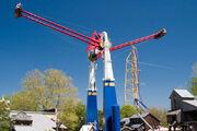 Skyhawk swinging