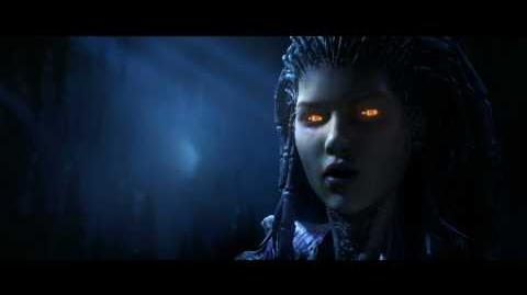 StarCraft 2 Zeratul VS Kerrigan Cinematic Ingame Version Full HD
