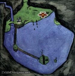 Lake Hylia map