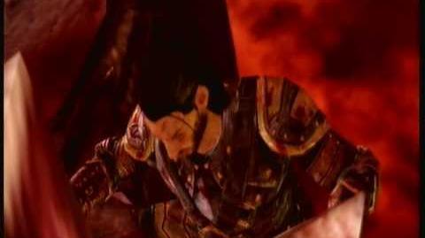 Dragon Age Origins Riordan vs the Archdemon